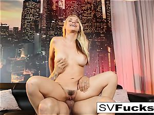 Sarah Vandella gets boinked rock hard