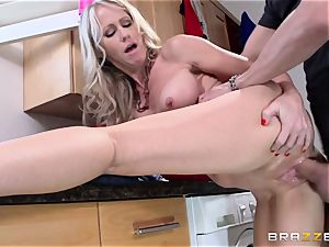 Mean mom Simone Sonay gets screwed by daughters fellow