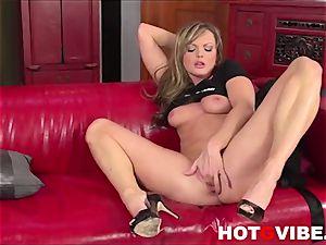 Sandra Sanchez Skips palace Duties to masturbate two