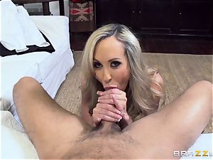 Club holder Brandi enjoy tests out a new toyboy pink cigar