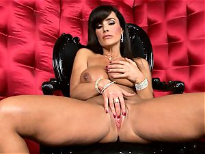 stellar Lisa Ann exposes her hefty delicious melons