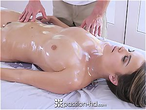 Passion-HD - Dillion Harper moist massage with facial