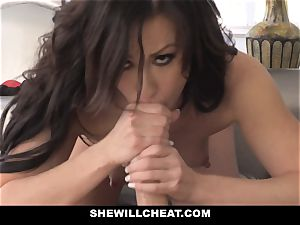SheWillCheat warm wifey Cheats with hubbies counterpart